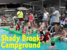 Shady Brook Campground & Boat Rentals Logo