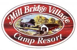 Mill Bridge Village and Camp Resort Logo