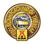 Delaware Water Gap / Pocono Mountain KOA Logo