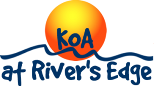 Uniontown KOA at River's Edge Logo